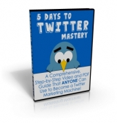 Thumbnail 5 Days to Twitter Mastery - With Master Resale Rights