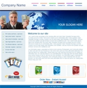 Thumbnail 5 HTML Templates & 3 Blog Themes - With Private Label Rights