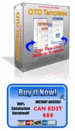 Thumbnail 5 One Time Offer Templates - With Private Label Rights
