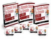 Thumbnail 5 Simple Steps To Create Killer Products - With Master Resell Rights