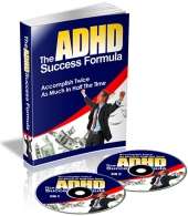 Thumbnail The ADHD Success Formula - With Private Label Rights