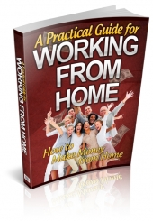 Thumbnail A Practical Guide For Working From Home - With Private Label Rights