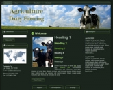 Thumbnail Dairy Farming WP Theme - With Master Resale Rights