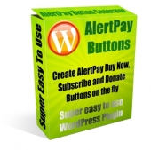 Thumbnail AlertPay Buttons Plugin - With Master Resale Rights