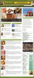 Thumbnail Allergy Website - With Private Label Rights
