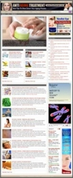 Thumbnail Anti Aging Treatment Website - With Private Label Rights