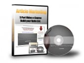Thumbnail Article Marketing 5 Part Video e-Course - With Master Resale Rights