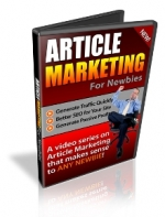 Thumbnail Article Marketing For Newbies - With Private Label Rights