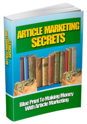 Thumbnail Article Marketing Secrets - With Master Resell Rights