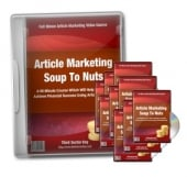 Thumbnail Article Marketing Soup To Nuts - With Master Resale Rights