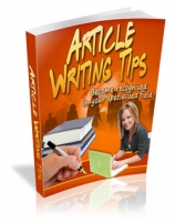 Thumbnail Article Writing Tips - With Master Resale Rights