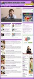 Thumbnail Attention Deficit Disorder Website - With Private Label Rights