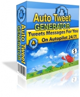 Thumbnail Auto Tweet Generator - With Master Resale Rights