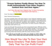 Thumbnail Automated Profit System - With Master Resale Rights