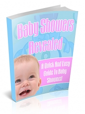 Thumbnail Baby Showers Revealed! - With Private Label Rights