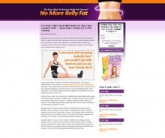 Thumbnail Belly Fat Landing Page Template
