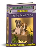 Thumbnail Big Book of Pit Breeders - With Resell Rights