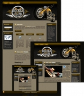 Thumbnail Bikers Club - WP Theme - With Master Resale Rights