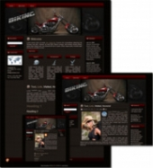 Thumbnail Biking - WP Theme - With Master Resale Rights