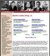 Thumbnail Black History Website - With Private Label Rights
