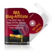 Thumbnail IMA Blog Affiliate Plugin - With Master Resell Rights