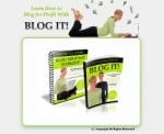 Thumbnail Blog It! Minisite - With Personal Use