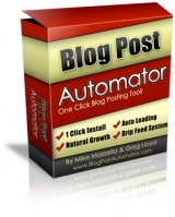 Thumbnail Blog Post Automator - With Master Resale Rights