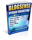 Thumbnail Blog Sense Hybrid Marketing - With Resell Rights