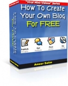 Thumbnail How To Create Your Own Blog For FREE - With Resell Rights