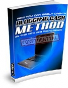 Thumbnail Blogging Cash Method - With Resell Rights