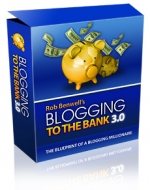 Thumbnail Blogging To The Bank 3.0 - Presell Template