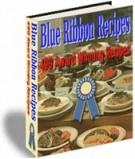 Thumbnail Blue Ribbon Recipes With Resell Rights