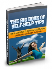 Thumbnail The Big Book of Self-Help Tips - With Master Resell Rights