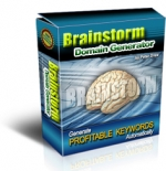 Thumbnail Brainstorm Domain Generator - With Master Resale Rights