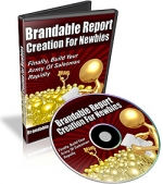 Thumbnail Brandable Report Creation For Newbies - With Private Label Rights