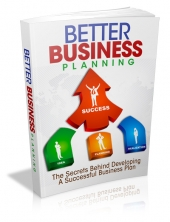Thumbnail Better Business Planning - With Master Resell Rights