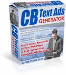Thumbnail CB Text Ads Generator - With Resell Rights