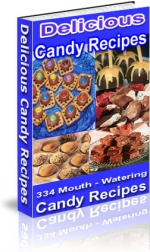 Thumbnail Delicious Candy Recipes - With Private Label Rights