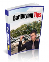 Thumbnail Car Buying Tips - With Private Label Rights