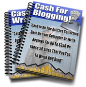 Thumbnail Cash For Blogging and Writing! - With Master Resale Rights