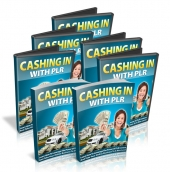 Thumbnail Cashing In With PLR - With Master Resell Rights