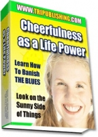 Thumbnail Cheerfulness as a Life Power - With Master Resale Rights