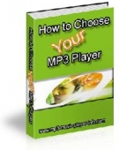 Thumbnail How To Choose Your MP3 Player - With Resell Rights