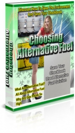 Thumbnail Choosing Alternative Fuel - With Private Label Rights