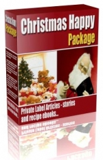 Thumbnail Christmas Happy Package - With Private Label Rights