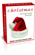 Thumbnail Christmas Coloring & Crafts Printables - With Master Resale Rights