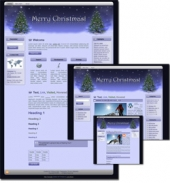 Thumbnail Christmas Wordpress, Blogger and HTML Templates - With Master Resale Rights