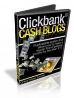 Thumbnail Clickbank Cash Blogs - With Master Resale Rights