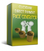 Thumbnail Clickbank Direct Payment Page Generator - With Resell Rights
