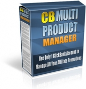 Thumbnail Clickbank Multi Product Manager - With Master Resale Rights